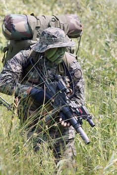 South Korean Army Special Forces