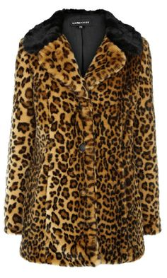 Fabulous Leopard Faux Fur Coat...