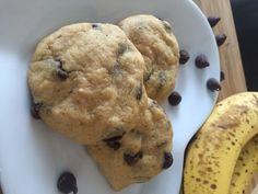 High Protein Banana Chocolate Chip Breakfast Cookie