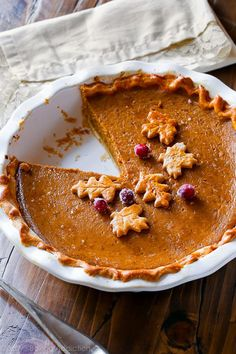 This is the great pumpkin pie recipe. I tested several recipes and this one is the absolute best. The secret ingredient puts it over the top!