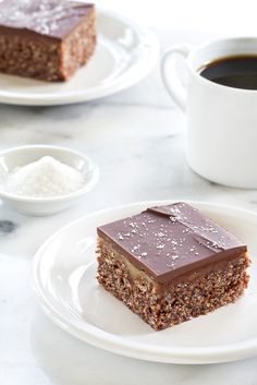 Chocolate Salted Caramel Scotcheroos are made extra special with a layer of gooey salted caramel. They're simple to whip up, and even easier to devour!