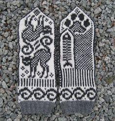 Liudvikos skrynia: Pirštinių raštai Knit Mittens, Mitten Gloves, Cross Stitch Patterns, Knitting Patterns, No Name, Color Inspiration, Fiber Art, Knit Crochet, Tapestry