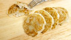 Tiny little Chewy Banana Coconut Pancakes are traditional Thai snacks that are perfect afternoon treats. Recipe from Hot Thai Kitchen Thai Banana, Banana Coconut, Crepes And Waffles, Banana Pancakes, Banana Dessert, Breakfast Dessert, Coconut Pudding, Thai Coconut Pancakes Recipe, Cambodian Food