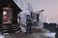 Dweller Camp home. ~ Fable 3