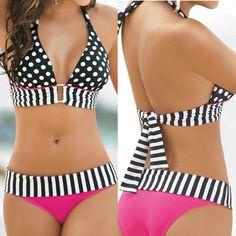 Bikini con tirantes