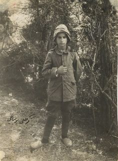 WWI Soldiers - A 13 year old Ottoman soldier…