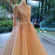 Hijab Dress Party, Hijab Wedding Dresses, Event Dresses, Bridal Dresses, Midi Dresses, Muslim Evening Dresses, Hijab Evening Dress, Beaded Wedding Gowns, Beaded Evening Gowns