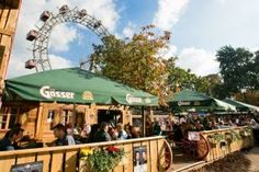 Viennas answer to Munichs - The Wiener Wiesn waits with beer, Austrian food and lots of good mood for you. Enjoy it! Austrian Recipes, Austrian Food, Fall Starts, Enjoy It, Good Mood, Beer, Patio, Traditional, City