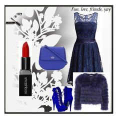 """Untitled #7"" by tahira-adis-hadzic ❤ liked on Polyvore featuring By Lassen, Smashbox, Kate Spade, Alice + Olivia, Paolo Shoes, Élitis and Bobbi Brown Cosmetics"