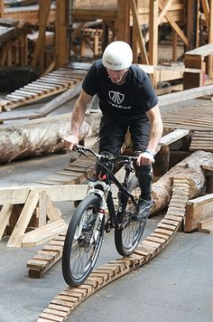 Ray's Mountain Bike indoor park ~ Cleveland