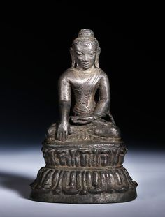 13th Century Late Pagan - Myinsaing Seated Buddha This unassuming little Buddha poses a giant conundrum for anyone interested in the artistic development of Buddhist art in Burma. Despite it's 13th century date is not what many would consider to be...
