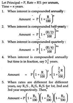 Compound Interest RS Aggarwal Class 8 Maths Solutions Ex - Mathe Ideen 2020 Math Strategies, Math Resources, Cool Math Tricks, Maths Tricks, Math Formula Chart, Math Tutorials, Math Vocabulary, Math Quizzes, Algebra Worksheets