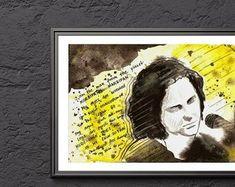 KasiaGach w Etsy Music, Prints, Etsy, Painting, Author, Painting Art, Muziek, Paintings, Musik