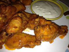 Keto  Buffalo Wings. This is essentially the recipe I have been using for years, except that I bake them in the oven at 375 for about an hour instead of deep frying them. -CAB