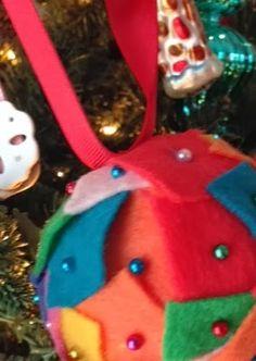 DIY Felt Ornament in 10 Minutes