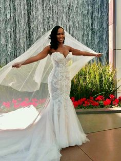 This haute couture wedding gown retails for over ten thousand dollars.  Our American based dress design firm can make a custom wedding dress that is inspired by this look for a fraction of the cost.  Your dress will have teh same style & look but will be less in price. For info on custom #weddingdresses and inexpensive #inspiredweddinggowns please go to www.DariusCordell.com