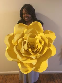 Giant Paper Flower. Made with Lee Lee's Creations Paper a Flower Template. To order : www.LLCCREATES.com