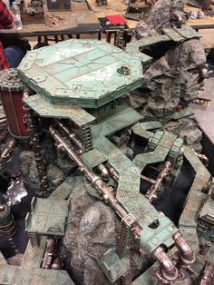Game Terrain, 40k Terrain, Wargaming Terrain, Warhammer 40000, Warhammer Art, Diy Table Top, Warhammer Terrain, Dark Eldar, Sci Fi Models