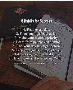 8 Habits for Success motivation How to Improve Yourself Infographic - e-Learning Infographics Vie Motivation, Study Motivation Quotes, Study Quotes, College Motivation, Entrepreneur Motivation, Motivation Success, Business Motivation, Entrepreneur Quotes, Motivacional Quotes
