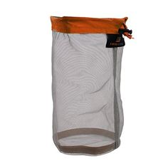 WINOMO Mesh Storage Bag Stuff Sack  Size M Orange ** You can get more details by clicking on the image.