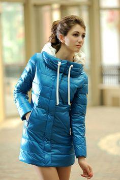 New Fashion Women's Winter Ladies Long Down Parkas Warm Outwear Coats Jackets For Women hood casual clthoes $32.99