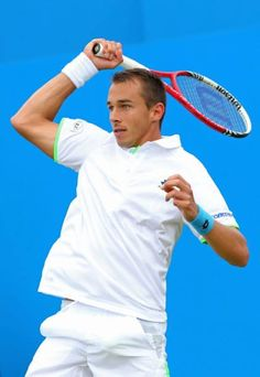 Lukáš Rosol    /    Photo by Getty Images   AEGON Championships 2013 at Queens Club, London.