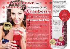 Cranberry Tea, Product List, Health And Beauty, Day, Recipes, Products, Recipies, Ripped Recipes
