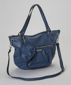 Take A Look At This Blue Gramercy Handbag By Franco Sarto On Zulily Today