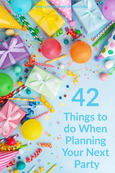 """Party planning is an endless list of """"to-do's"""" just to have a bit of fun, isn't it? This printable checklist breaks it down into manageable categories. #PartyPlanning #SummerParty #Summertime #HolidayParty #DinnerParty #DIY Summer Parties, Holiday Parties, Disney Parties, Party Planning Checklist, Event Planning, Christmas Planning, Baby Sprinkle, Toot, For Your Party"""