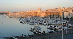 Marseille, France at sunrise
