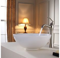 Kraus C-KCV-141-15000. Sink faucet combo. Option for downstairs bathroom. Brushed Nickel finish.