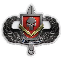 Airborne Shield Sticker