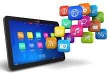 Leerlingen met iPad's (Kennisnet)