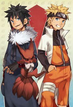 Naruto e Menma Uzumaki Naruto Shippuden Sasuke, Sasunaru, Anime Naruto, Menma Uzumaki, Naruto Comic, Naruto Cute, Naruto Funny, Narusaku, Naruhina
