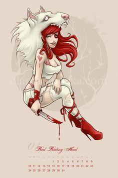Red Riding Hood by ~aleksandracupcake
