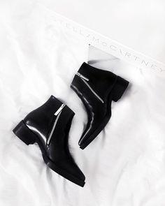 Stella McCartney Cora Boots – The Black Feather