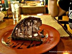 Death by Chocolate at Bennigans...I miss this.