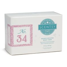 No.34 Women's Moisturizing Body Bar -  White satin and pearls. The fairytale is yours for the taking amongst lilting, confectionery notes pretty enough for a princess.