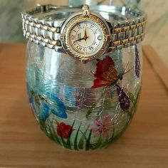 Anne Klein II Watch Silver + Gold. Needs a battery. The face has no scratches. Great condition. The type of closure is in 3rd photo. Water Resistant. Anne Klein Accessories Watches
