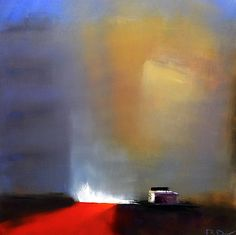 Tu recepcja - The Irishman's Barn ~ Ruth Dwyer . Abstract Oil, Abstract Landscape, Landscape Paintings, Barn Paintings, Abstract Paintings, Illustrations, Illustration Art, Different Forms Of Art, Collage