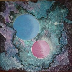 Galaxy/Acrylmalerei
