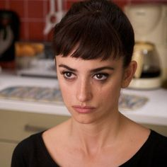 Penelope Cruz, Broken Embraces seriously, I'm really thinking about getting micro bangs
