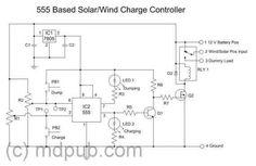 Cómo hacer un regulador de carga mixto (panel solar y aerogenerador)