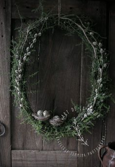 Xmas Wreaths, Easter Wreaths, Door Wreaths, Grapevine Wreath, Shabby Chic Kranz, Easter Tree Decorations, Willow Weaving, Purple Tulips, Easter Table
