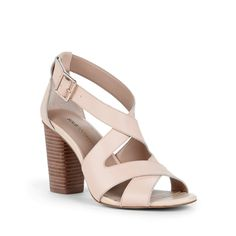 """Sole Society """"Nellee"""", $69.95, Heel Height: 3 1/4"""", Color: Buff/Equestrian Tan"""