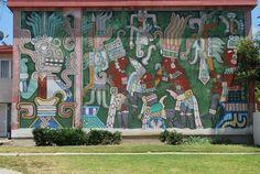 Estrada Courts, East Los Angeles (by Charles Felix y los Ninos del Mundo)