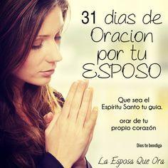 31 dias de oracion por tu esposo