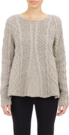 Трапеция свитер
