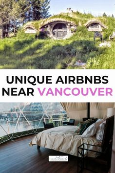 Dreaming of a unique staycation or getaway near Vancouver? From floating love nests to oceanside pods, treehouses and converted barns, these unique Airbnbs near Vancouver are all within a six hour drive.