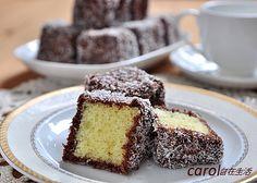 Carol 自在生活 : 林明頓蛋糕。Lamington - 實作影片
